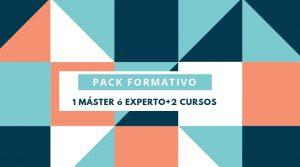 PACK DE 1 MÁSTER/EXPERTO + 2 CURSOS
